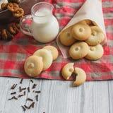Biscotti dei biscotti Immagine Stock