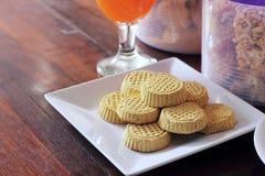 Biscotti dei fagiolini Fotografie Stock