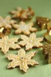 Biscotti dei fiocchi di neve Fotografia Stock Libera da Diritti
