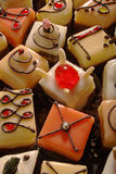 Biscotti dei petit four Fotografie Stock Libere da Diritti