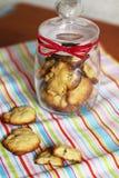 Biscotti del Apple Fotografia Stock Libera da Diritti