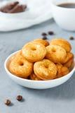 Biscotti del biscotto sul piatto Fotografie Stock