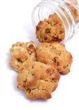 Biscotti del burro di arachide Immagini Stock