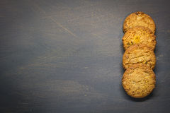 Biscotti del cereale Fotografie Stock