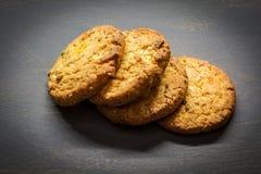Biscotti del cereale Immagine Stock