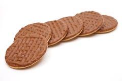 Biscotti del cioccolato Fotografia Stock