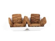 Biscotti del cioccolato Fotografie Stock Libere da Diritti