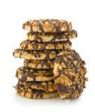 Biscotti del cioccolato immagini stock libere da diritti