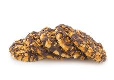 Biscotti del cioccolato fotografia stock libera da diritti