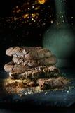 Biscotti del cioccolato II Immagine Stock
