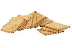 Biscotti del cracker Fotografia Stock Libera da Diritti