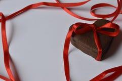 Biscotti del cuore Immagini Stock Libere da Diritti