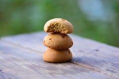 Biscotti del dolce del burro Fotografie Stock Libere da Diritti