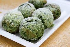 Biscotti del dolce di Grenn Fotografia Stock