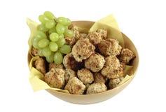 Biscotti del fiocco di avena Immagini Stock Libere da Diritti