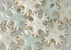 Biscotti del fiocco di neve Fotografia Stock Libera da Diritti