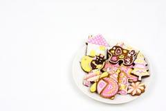 Biscotti del fumetto Fotografia Stock