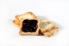 Biscotti del gruppo con inceppamento Fotografia Stock