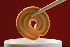 Biscotti del latte Immagine Stock