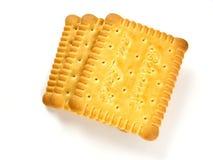 Biscotti del latte Fotografie Stock Libere da Diritti