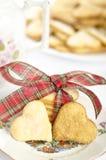 Biscotti del limone fotografie stock