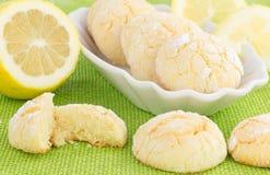 Biscotti del limone Immagine Stock