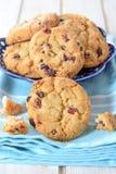 Biscotti del mirtillo rosso Immagine Stock
