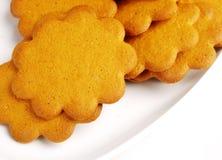 Biscotti del pan di zenzero Immagine Stock Libera da Diritti