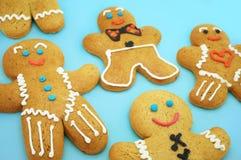 Biscotti del pan di zenzero Fotografie Stock