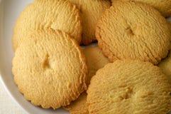 Biscotti del riso in un piatto Immagine Stock Libera da Diritti