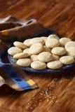 Biscotti del sesamo Fotografie Stock