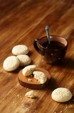 Biscotti del sesamo Immagini Stock Libere da Diritti