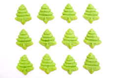 Biscotti dell'albero di Natale Immagini Stock Libere da Diritti