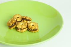 Biscotti dell'ananas Fotografia Stock Libera da Diritti