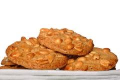 Biscotti dell'arachide Fotografia Stock Libera da Diritti
