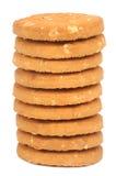 Biscotti dell'avena fotografie stock libere da diritti