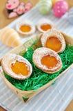 Biscotti dell'uovo di Pasqua Immagine Stock Libera da Diritti