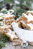 Biscotti della cannella Immagine Stock Libera da Diritti