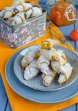 Biscotti della carota Fotografia Stock