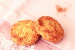 Biscotti della noce di cocco Immagine Stock Libera da Diritti