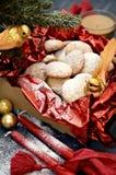 Biscotti della noce di cocco Fotografia Stock