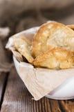 Biscotti della noce di macadamia Immagine Stock