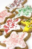 Biscotti della stella Immagini Stock