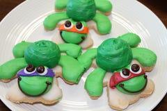 Biscotti della tartaruga Fotografia Stock