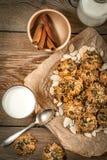 Biscotti della zucca Immagini Stock