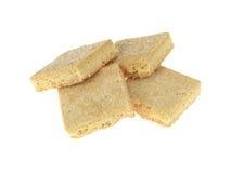 Biscotti dello Shortbread Fotografia Stock Libera da Diritti