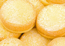 Biscotti dello Shortbread del yo-yo Immagine Stock