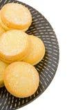 Biscotti dello Shortbread del yo-yo Fotografia Stock