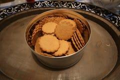 Biscotti dello zenzero Fotografia Stock Libera da Diritti