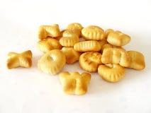 Biscotti di alfabeto Immagini Stock